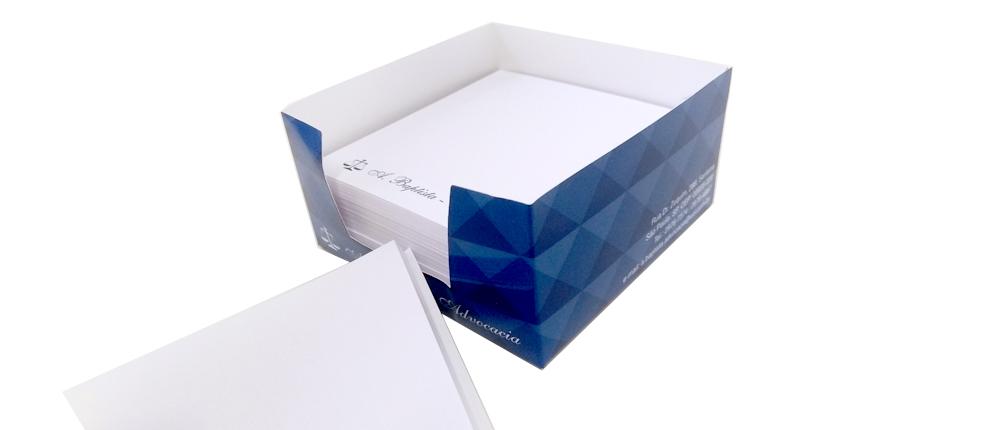 Caixa Bloco de Notas Personalizada