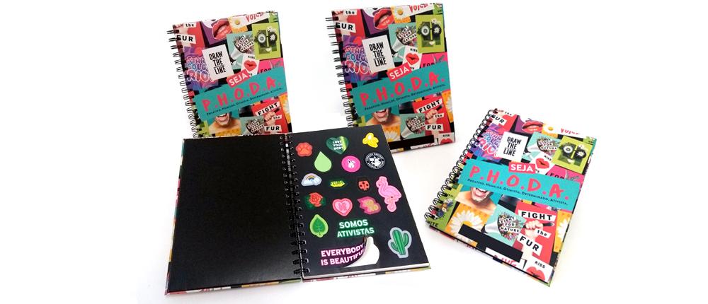 Caderno Personalizado Argolado