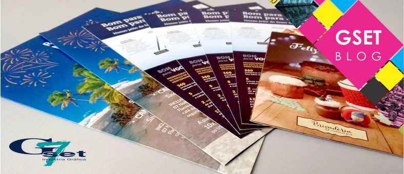 Itens de papelaria para empresa - Folder