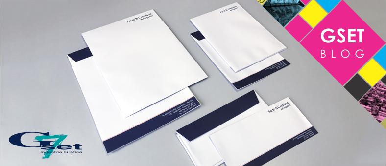Itens de papelaria para empresa - Envelopes personalizados