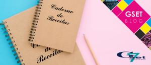 Como fazer um caderno de receitas personalizado?