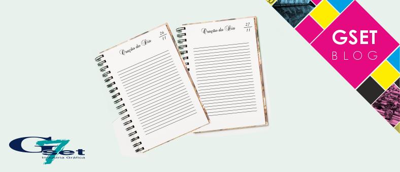 Caderno personalizado de Oração