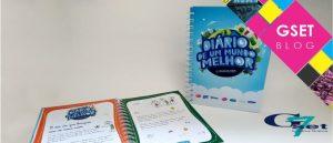 Caderno personalizado para brinde
