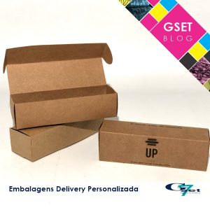 Embalagens delivery personalizadas