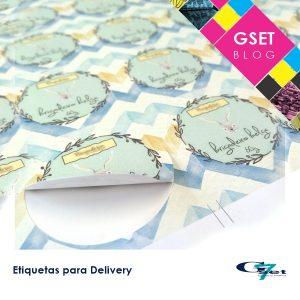 Etiquetas personalizadas para delivery